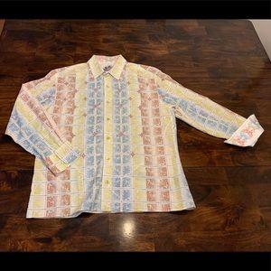 Men's Robert Graham dress shirt
